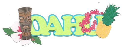Oahu Scene   Hawaii