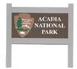 Acadia Nat'l Park Sign