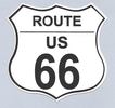 US Route 66 Sign